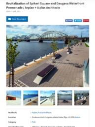 Revitalization of Spikeri Square and Daugava Waterfront Promenade