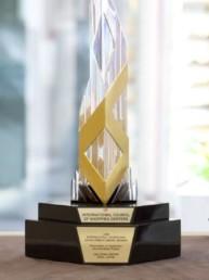 Лауреат международной награды дизайна и развития