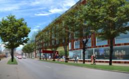 Dzīvojamo un biroja ēku komplekss