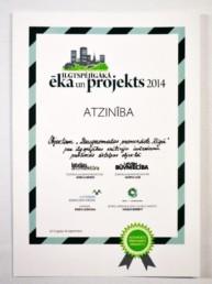 Ilgtspējīgākā ēka un projekts