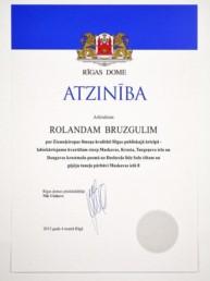 Rīgas Domes Atzinība