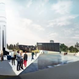 Cēsu Kosmosa izziņas centra jaunbūve