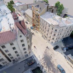 Daudzdzīvokļu māja Miera ielā 30