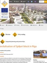 Revitalisation of Spīķeri block in Rig